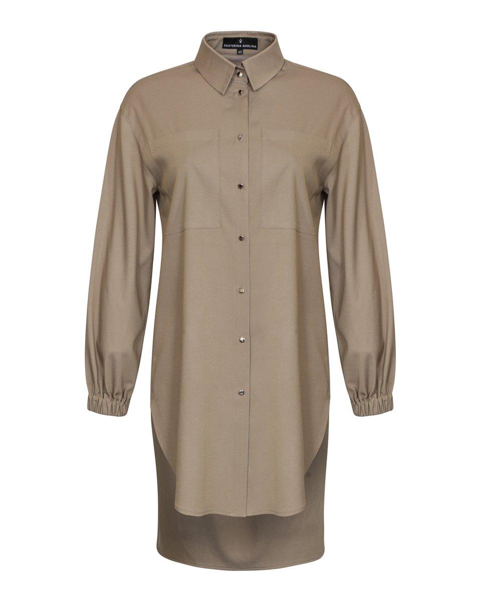 """Платье-рубашка в стиле """"Сафари"""""""
