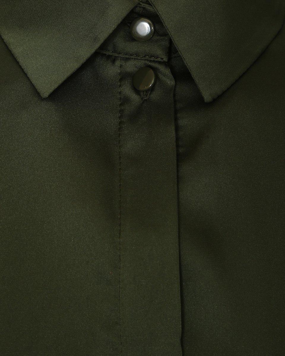 Рубашка-туника с летящим подолом
