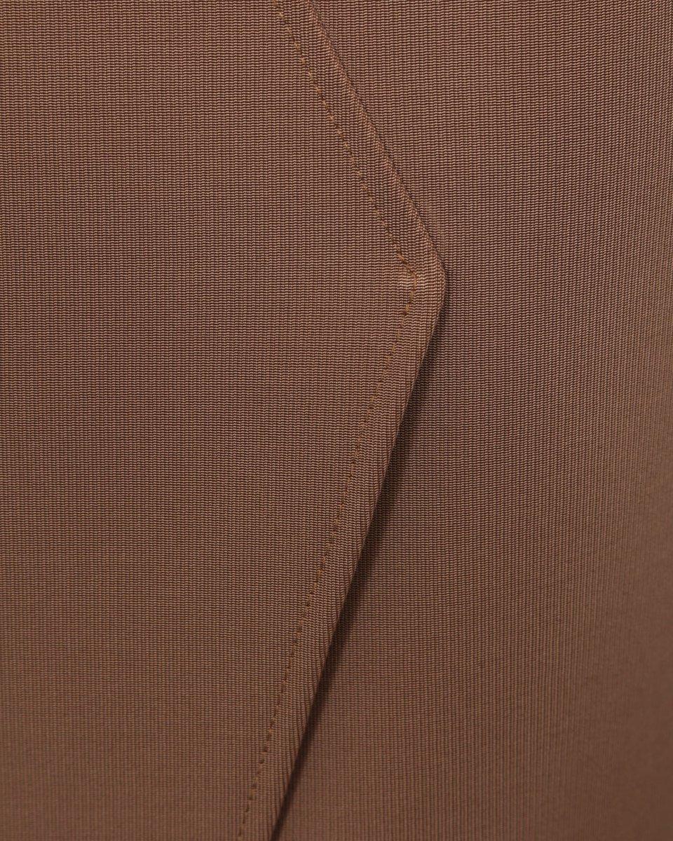 Юбка-карандаш бежевого цвета