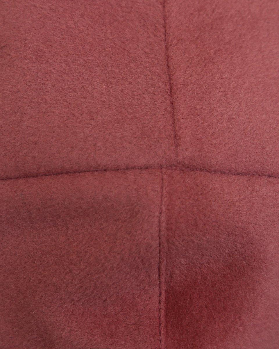 Пальто-кардиган розового цвета с капюшоном