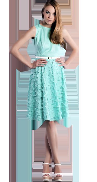 Платье с пышной юбкой видео
