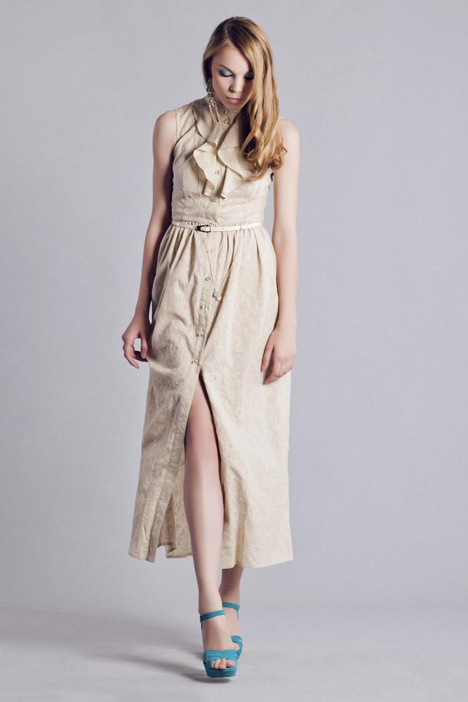 Платье из шитья с подкладом