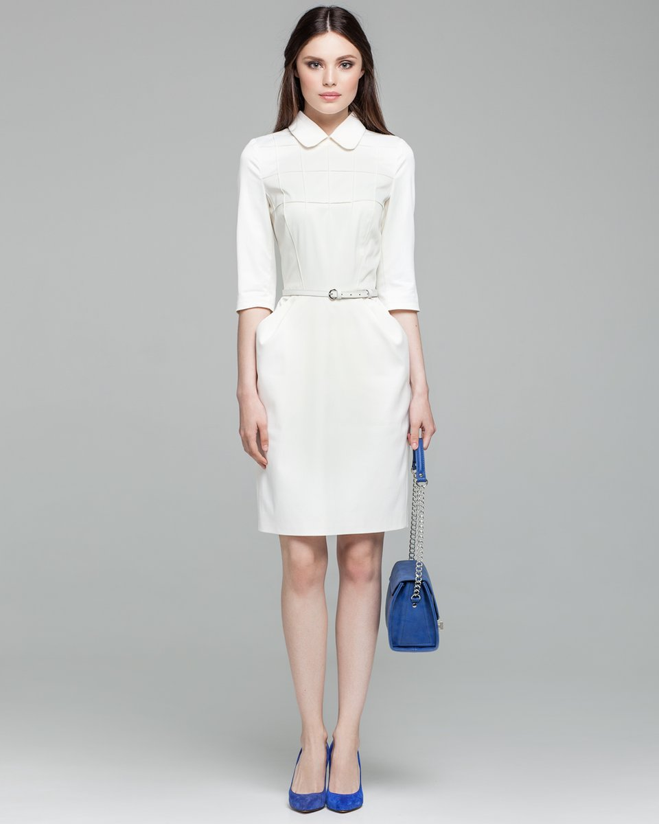 Платье С Юбкой Тюльпан