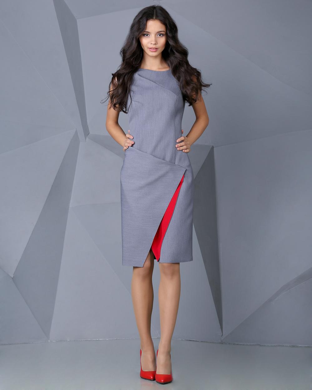 Модные платья на работу 2018
