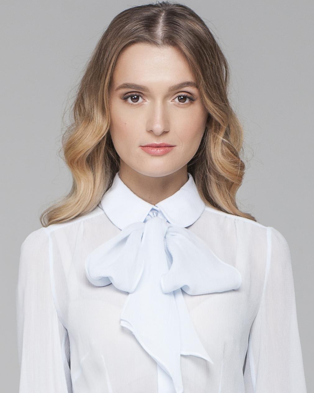 Блузка С Бантом На Шее В Воронеже