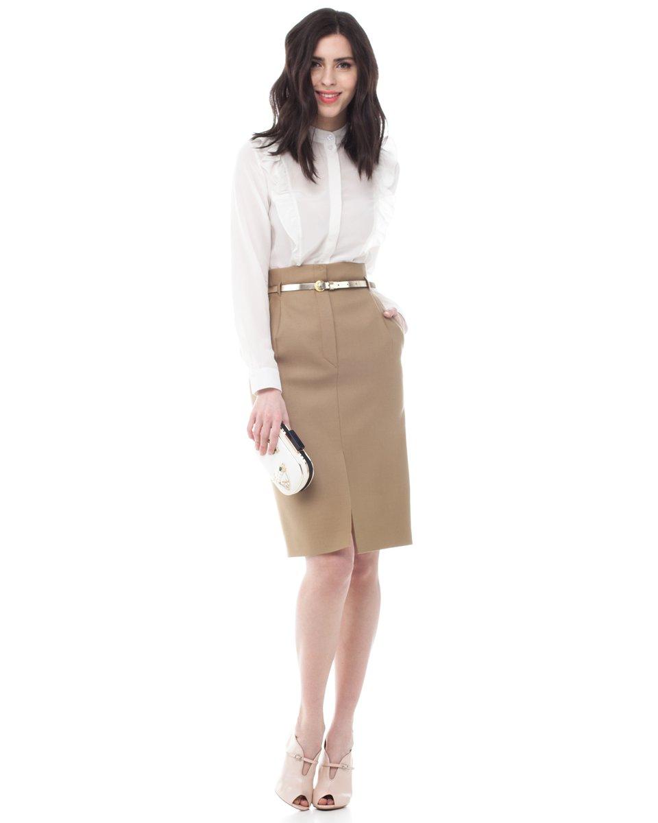 Autumn winter wool skirt for women plus size long skirt high waist pleated skirts women