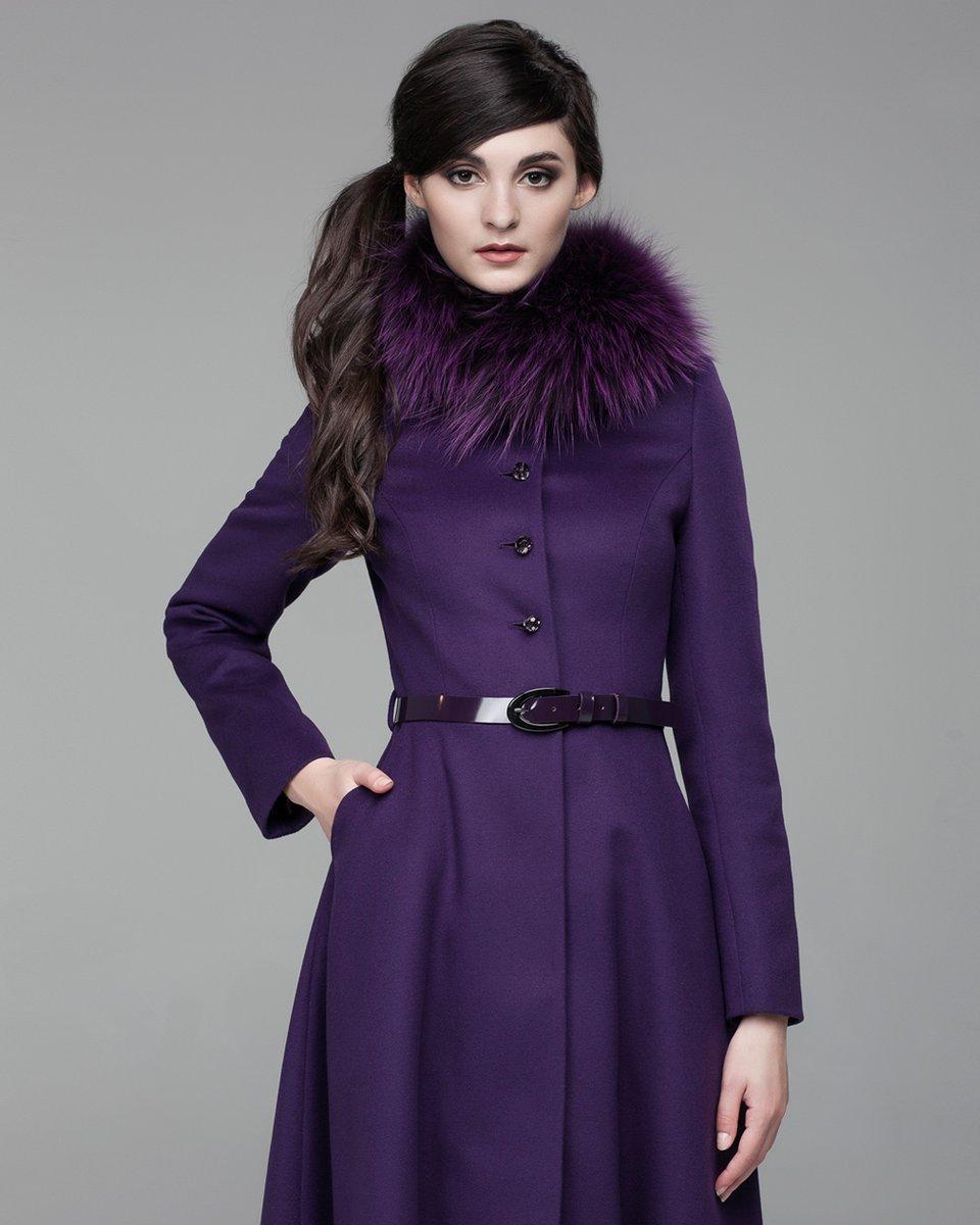 Женское пальто зима с мехом 16