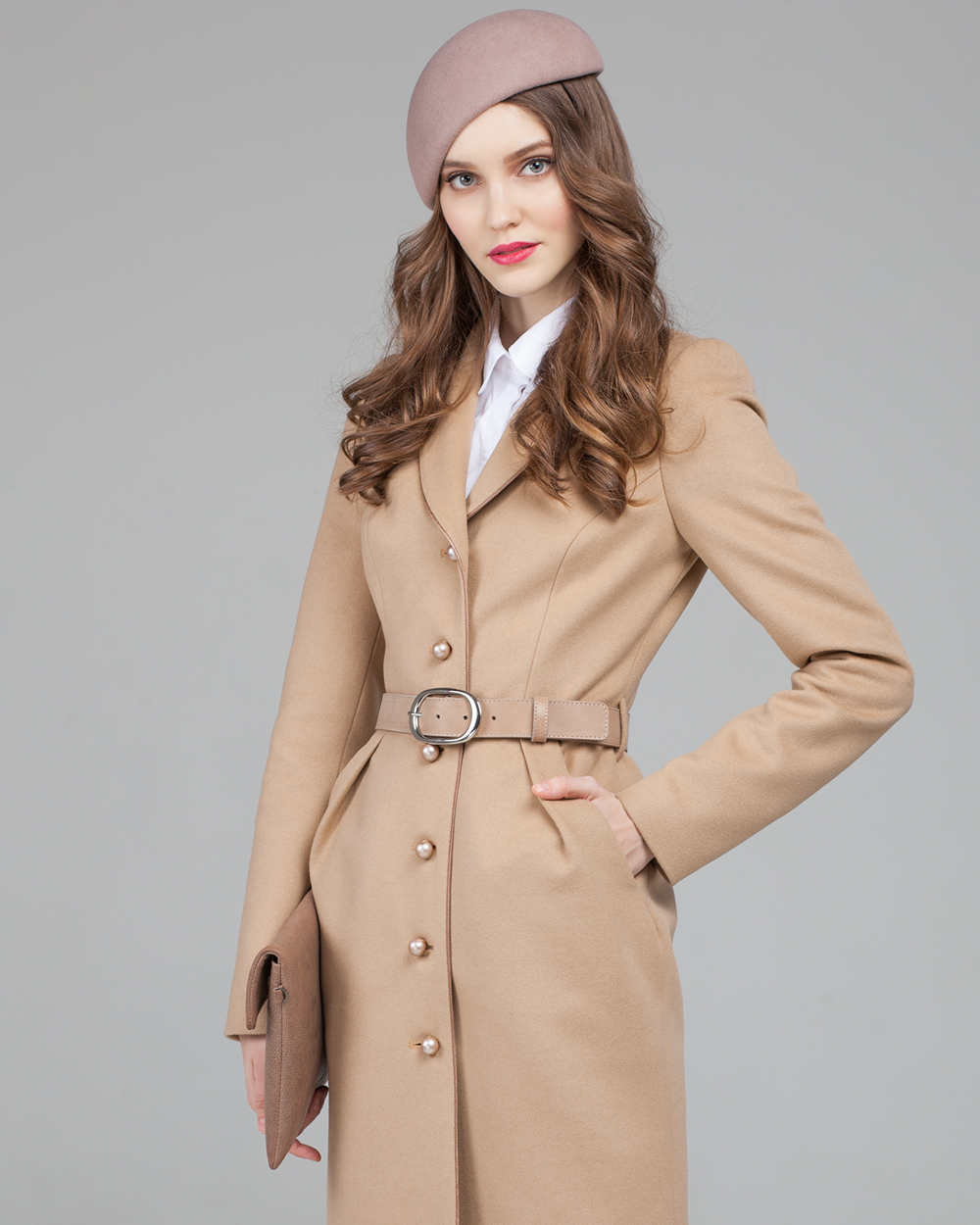 Пальто Тюльпан